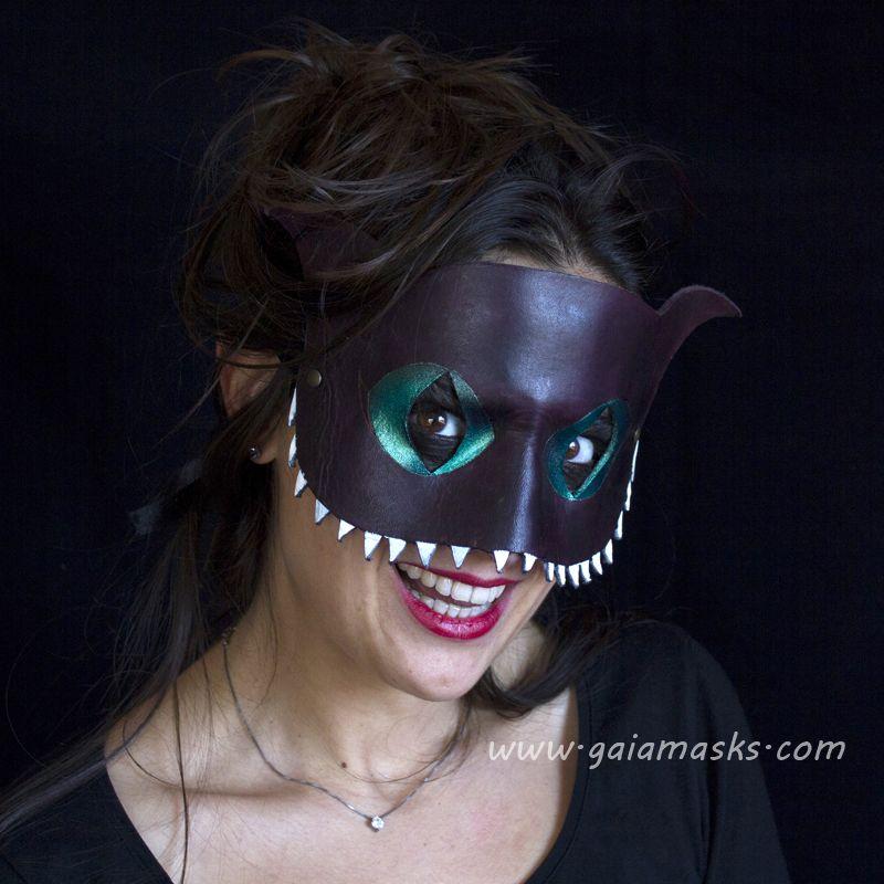 maschera bocca gatto