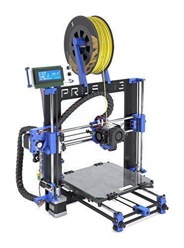 bq Prusa i3 Hephestos Impresora 3D, color azul