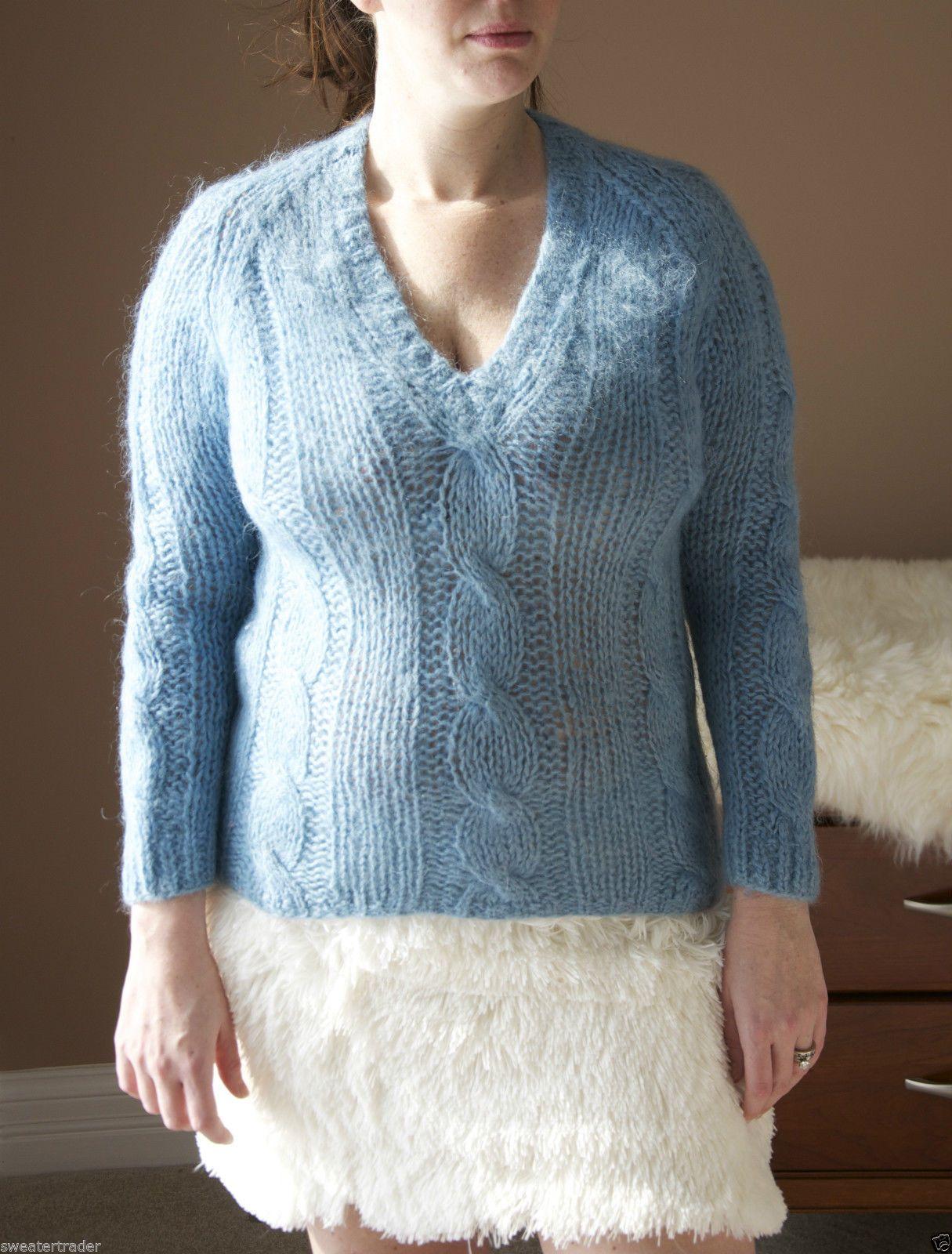 Wool Sweater Furry 112