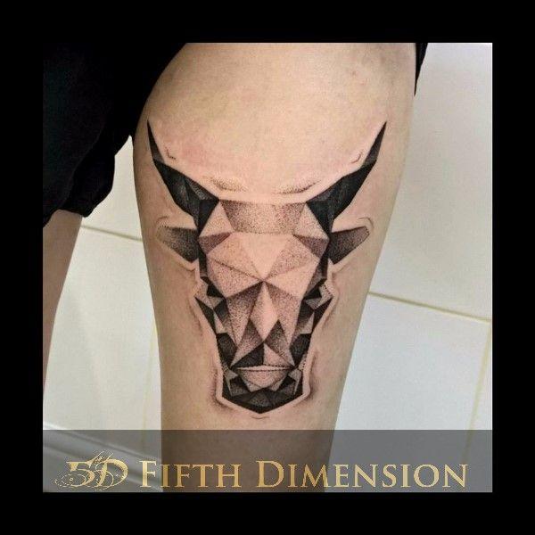 Tattoo By Sabina Dotwork Cow Londontattoo Blackandgreytattoo Dotworktattoo Eastlondon Shoreditch Dotwork Cowtattoo London Tattoo Tattoos Vegan Tattoo