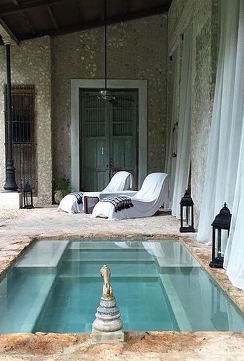 Amazing Small Indoor Pool Design Ideas 51   Well made rooms ...
