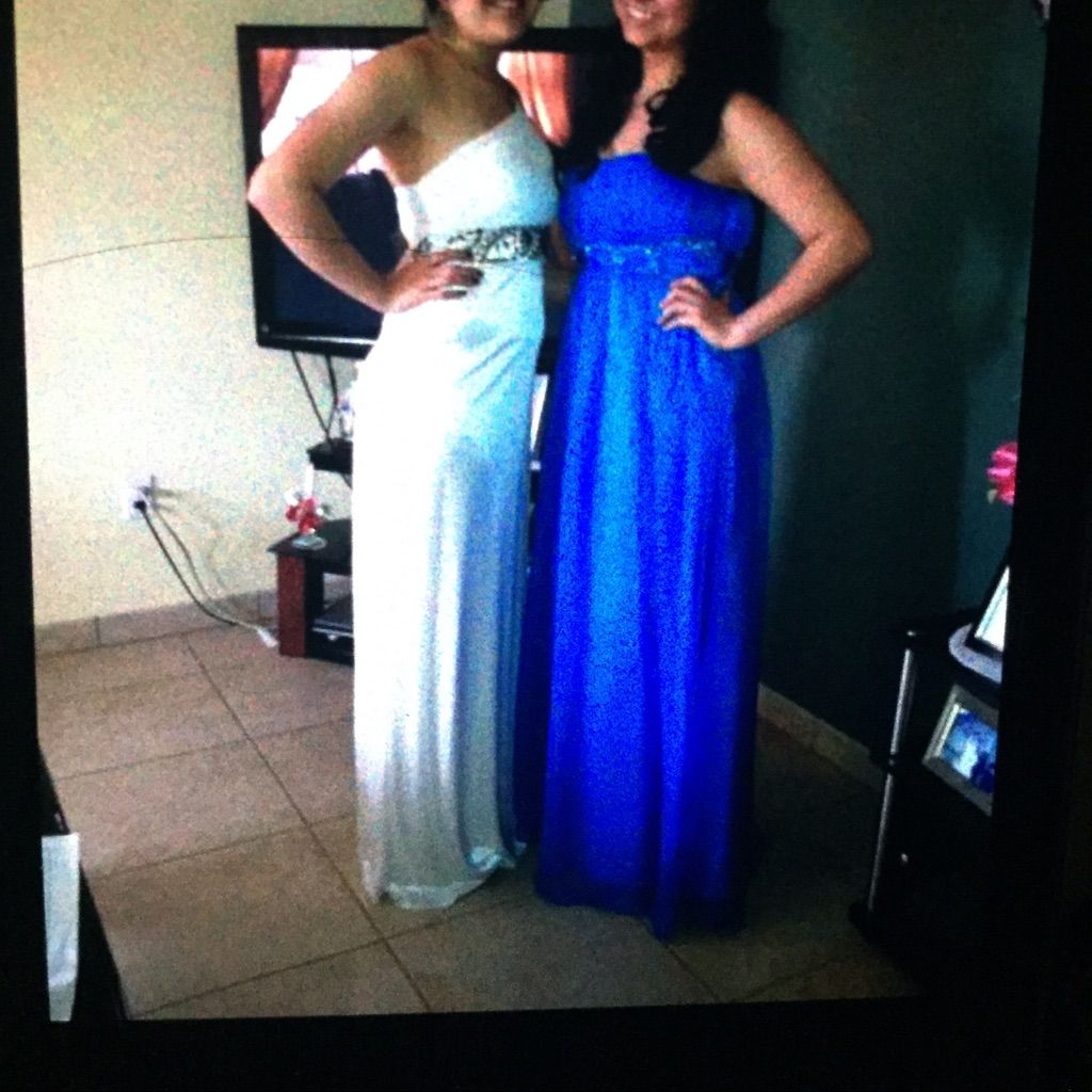 White prom dress products