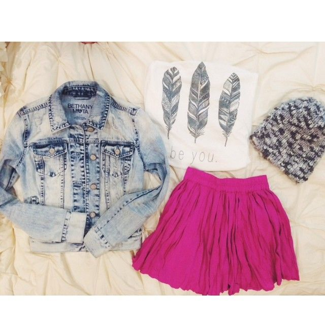 I love this outfit from Bethany Mota's clothing line. So cute!