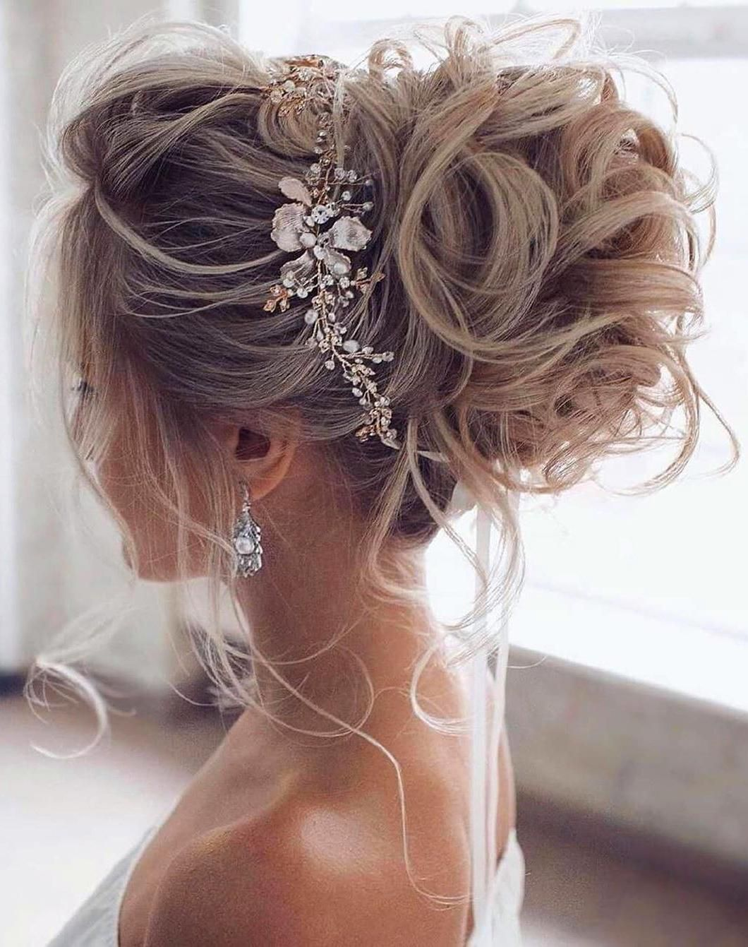 2020 的 Elegant Prom Updo Wedding Hairstyles for Medium ...