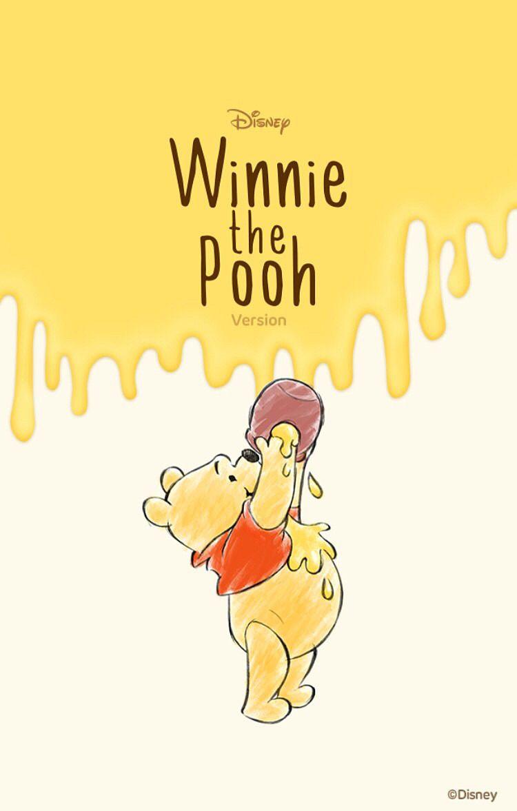 壁紙 完全無料画像検索のプリ画像 Winnie The Pooh Background Cute Winnie The Pooh Disney Winnie The Pooh