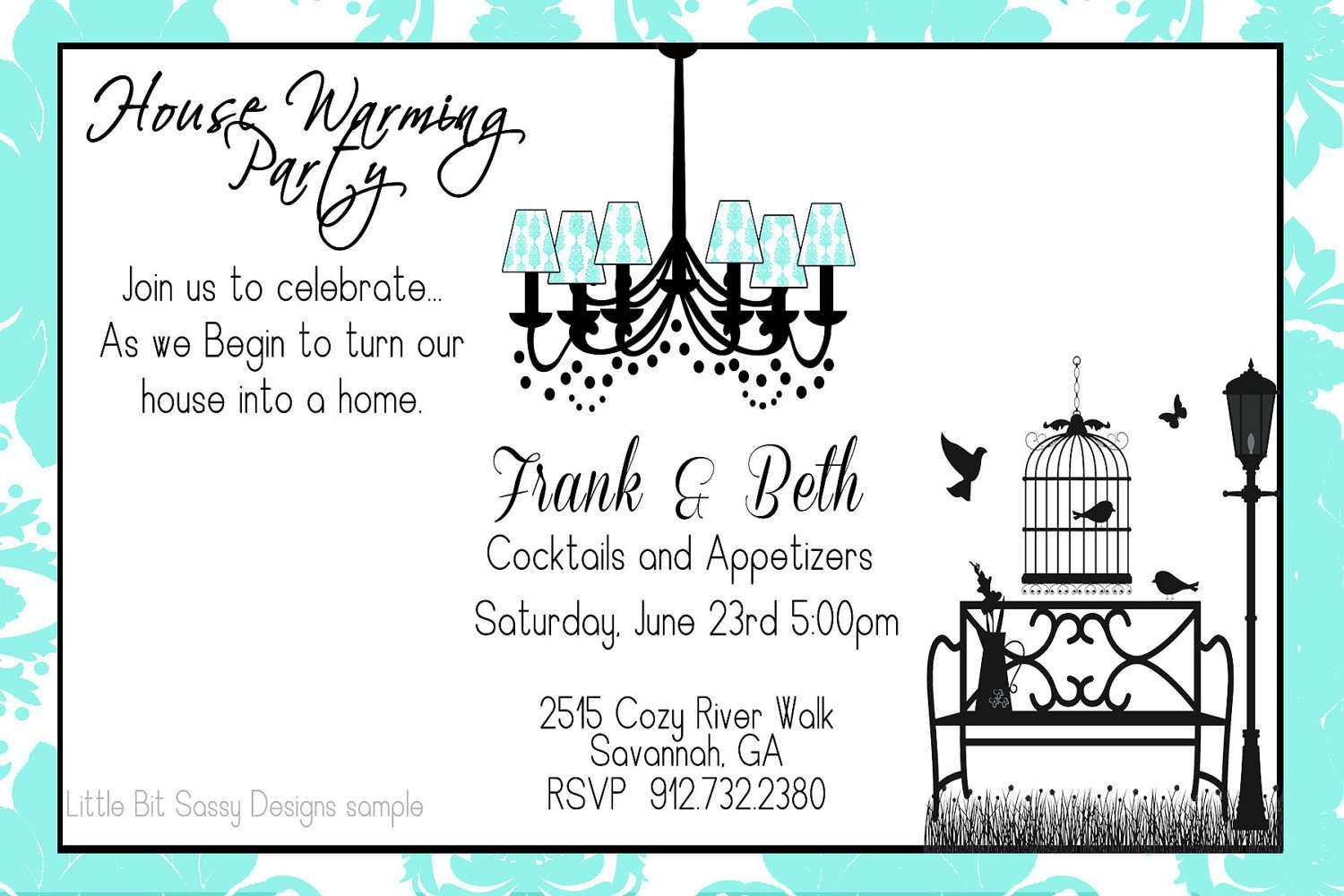 housewarming party invitation wording House Warming Invitation