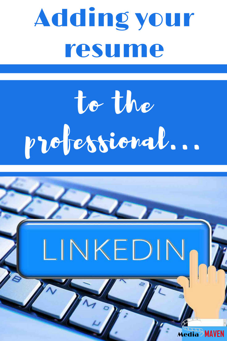How To Add a Resume To Linkedin Working mom tips, Public