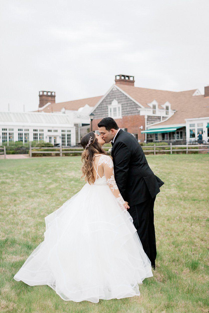 Hayley paige elysia gown heritage club at bethpage wedding wedding
