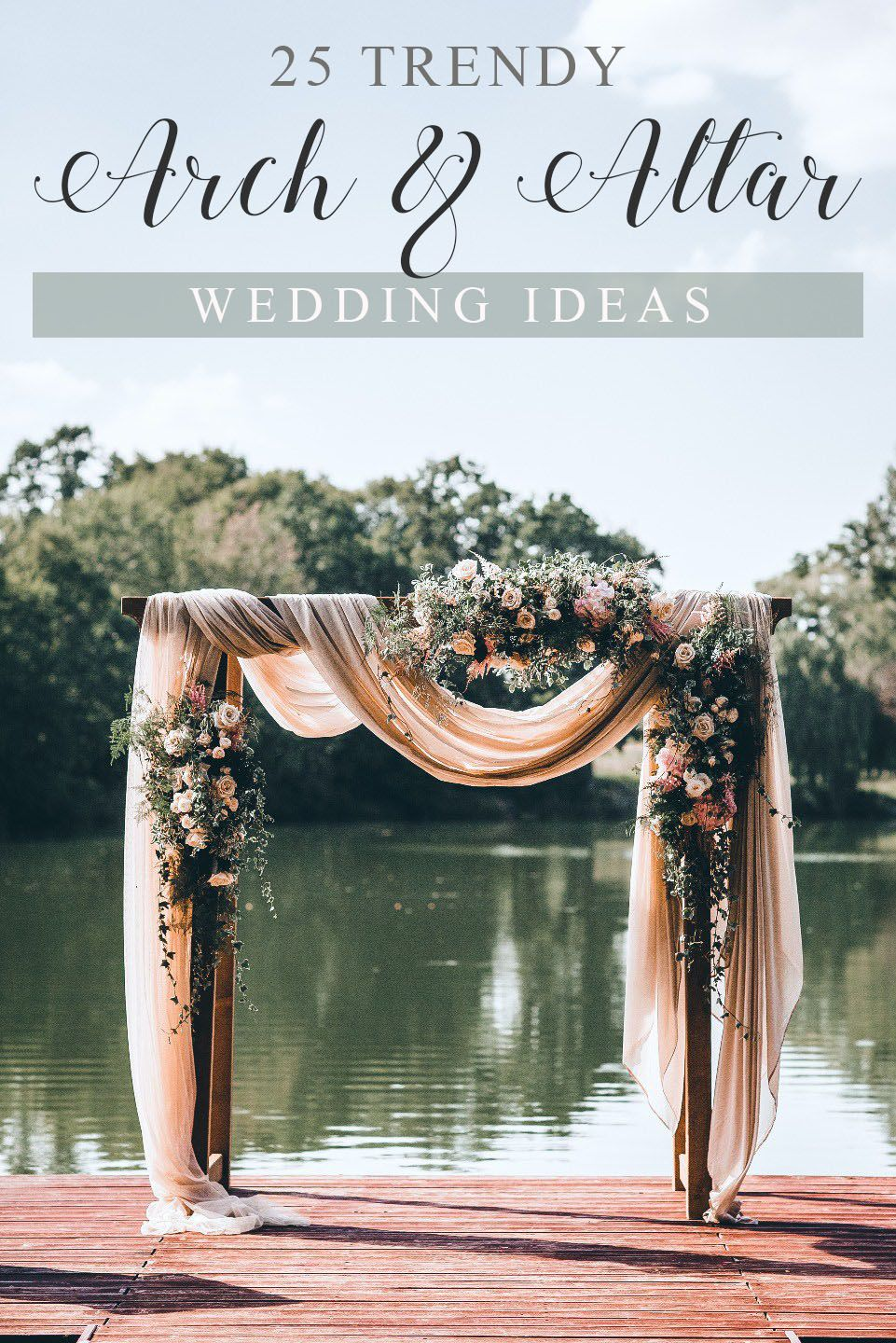 25 Trending Wedding Altar Arch Decoration Ideas Elegantweddinginvites Com Blog Wedding Arch Wedding Altars Wedding Decorations