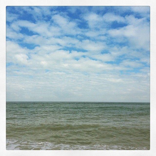 #Normandy#France#sea#clouds#cloudspotting