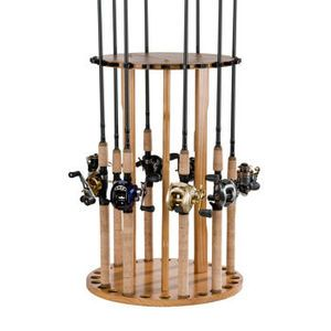 Fishing Pole Storage Carousel Darrell And I Really Need One Of These Fishing Pole Rack Fishing Rod Storage Fishing Rod Rack