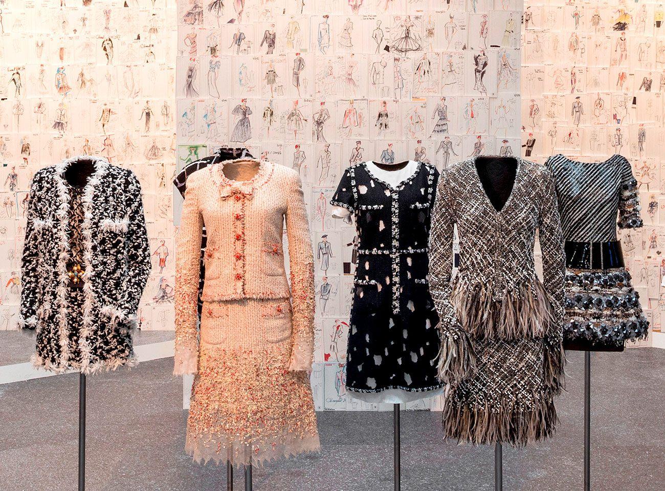 Reinvenci�n del tweed desde tejidos hasta bordados
