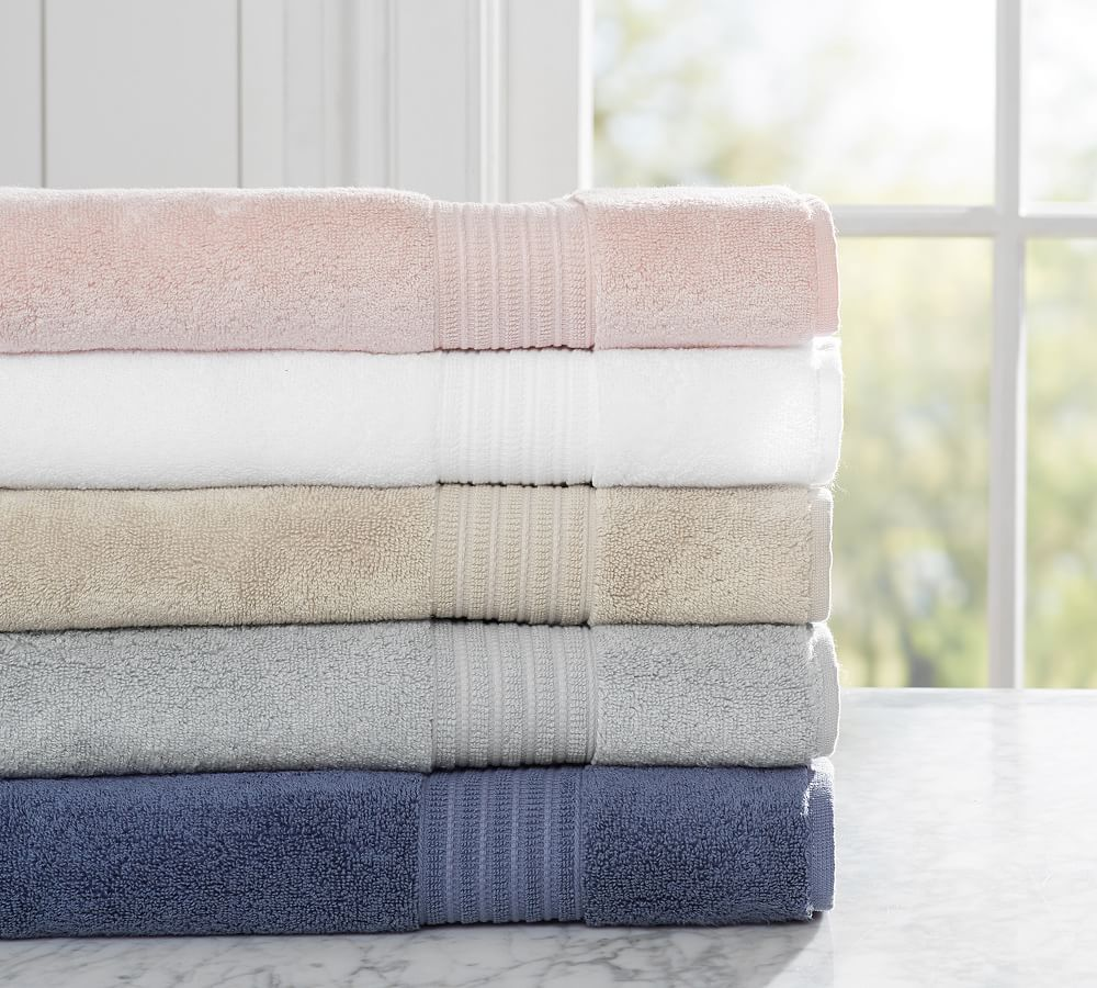 Cotton Tencel Organic Towels Towel Pottery Barn Bath Best