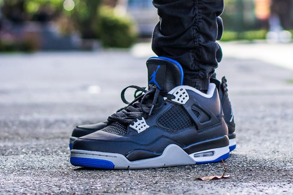 a43c655af7e Air Jordan 4 Alternate Motorsport On Feet Sneaker Review | Sneakers ...