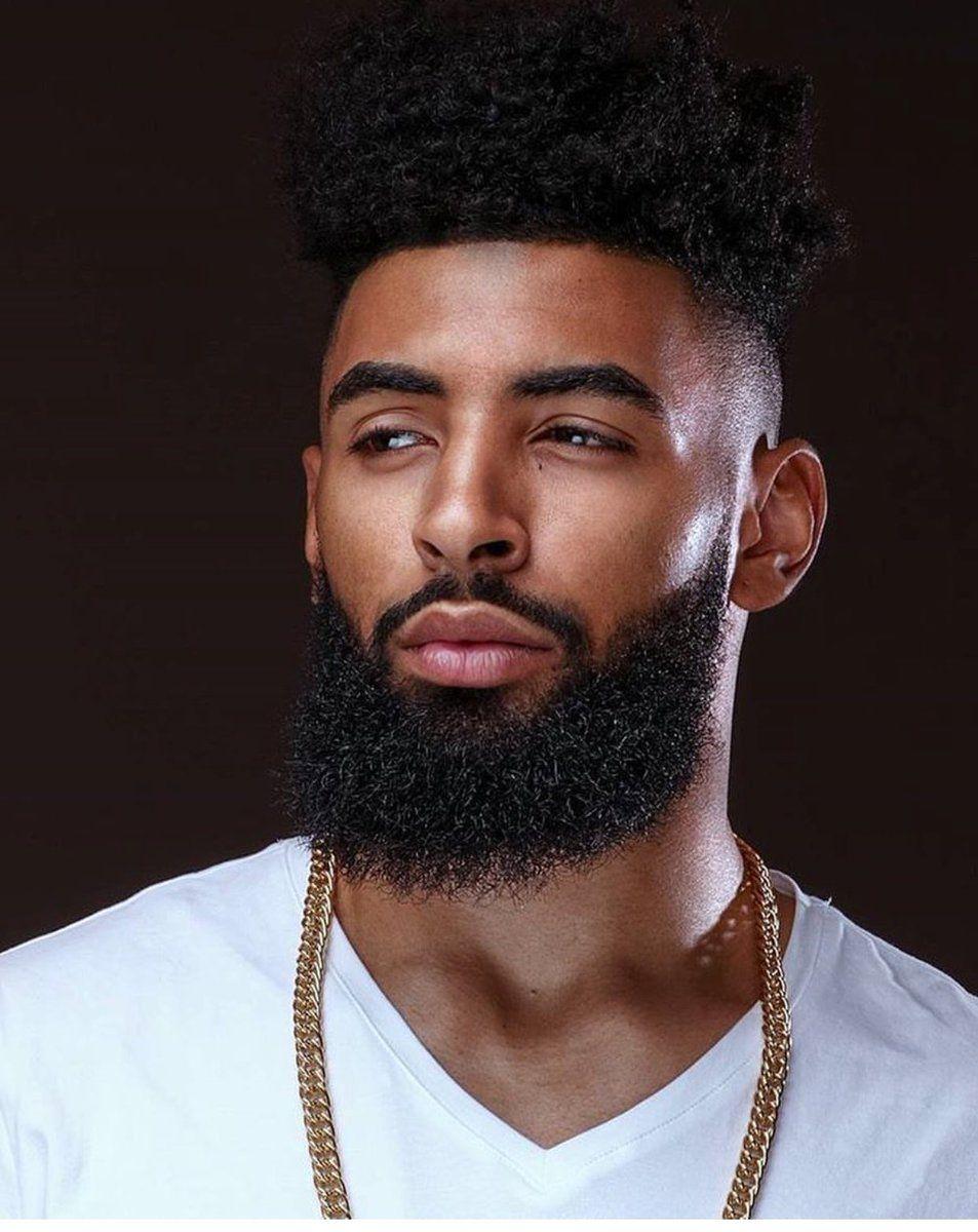 slime 🧪 on | just sexy | black men beards, black men, beard