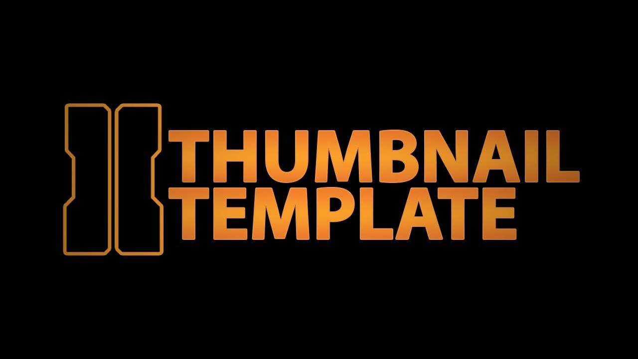 youtube thumbnail template | Black Ops 2 Thumbnail | what the ...