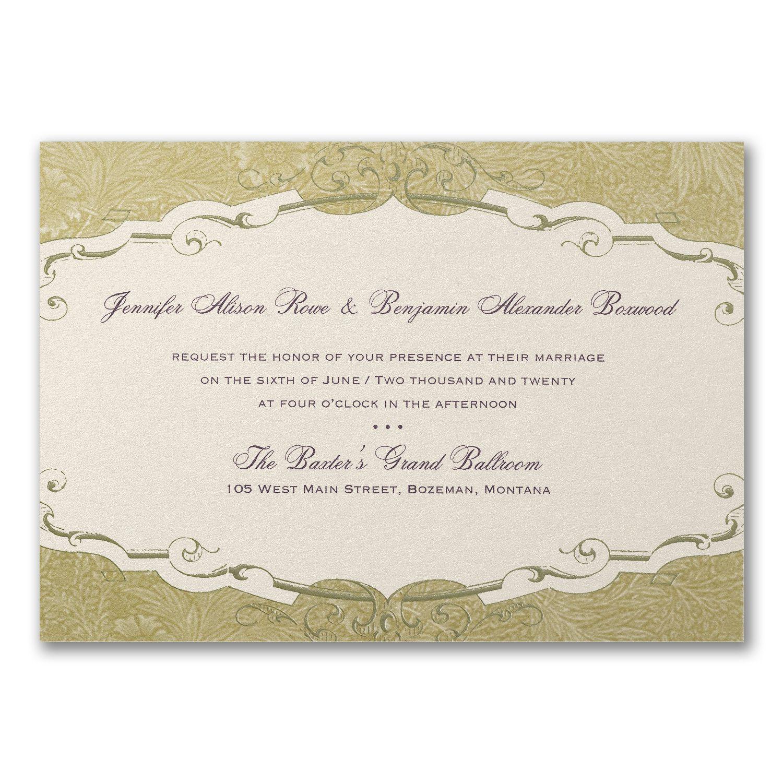 Storybook Charm Invitation Wedding invitation prices
