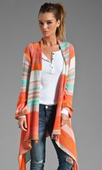 Goddis Naples Wrap Sweater in Starburst