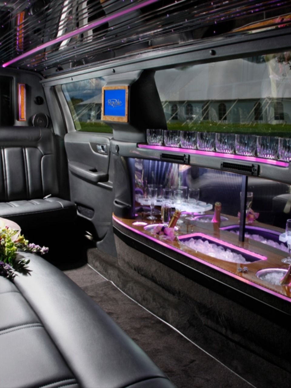 Nj prom limo service party buses prom limo limousine