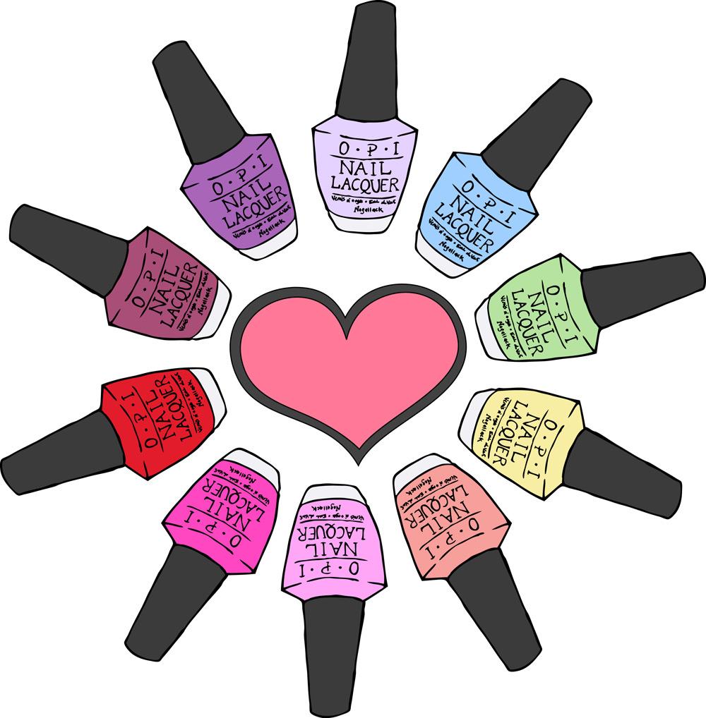 How To Draw A Cartoon Nail Polish Bottle – Papillon Day Spa