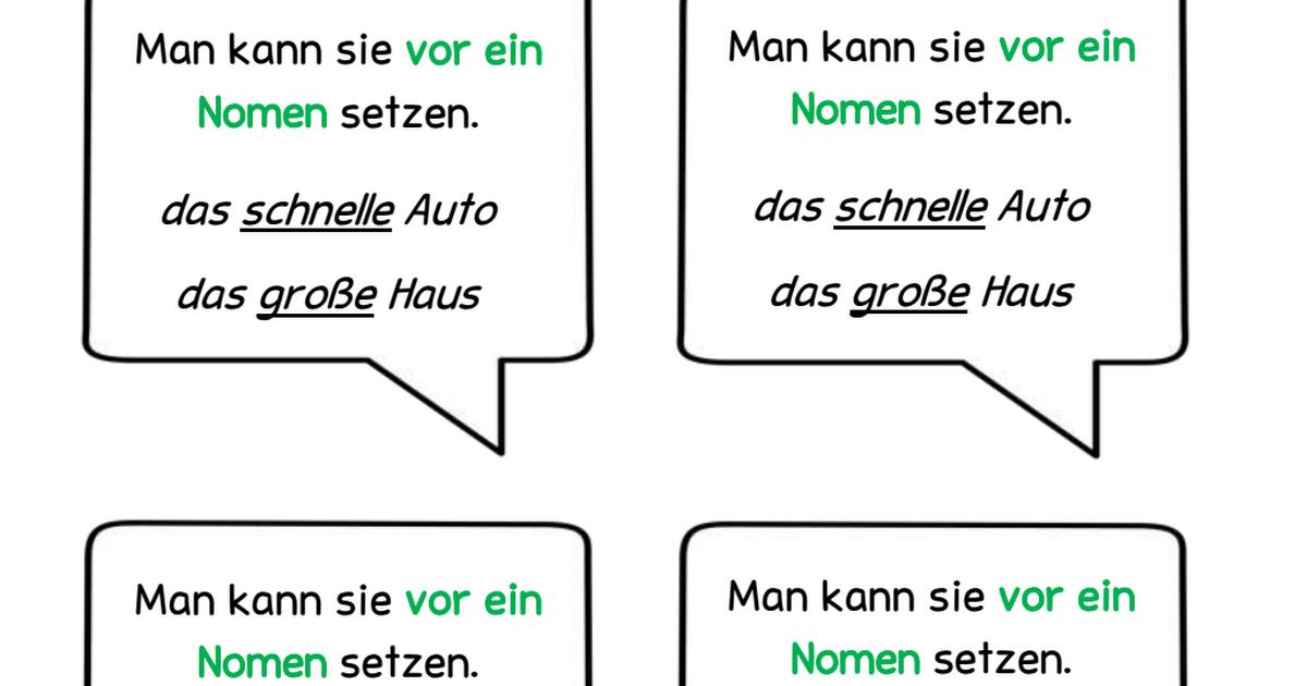 Wunderbar Adjektive Arbeitsblatt Pdf Zeitgenössisch - Super Lehrer ...