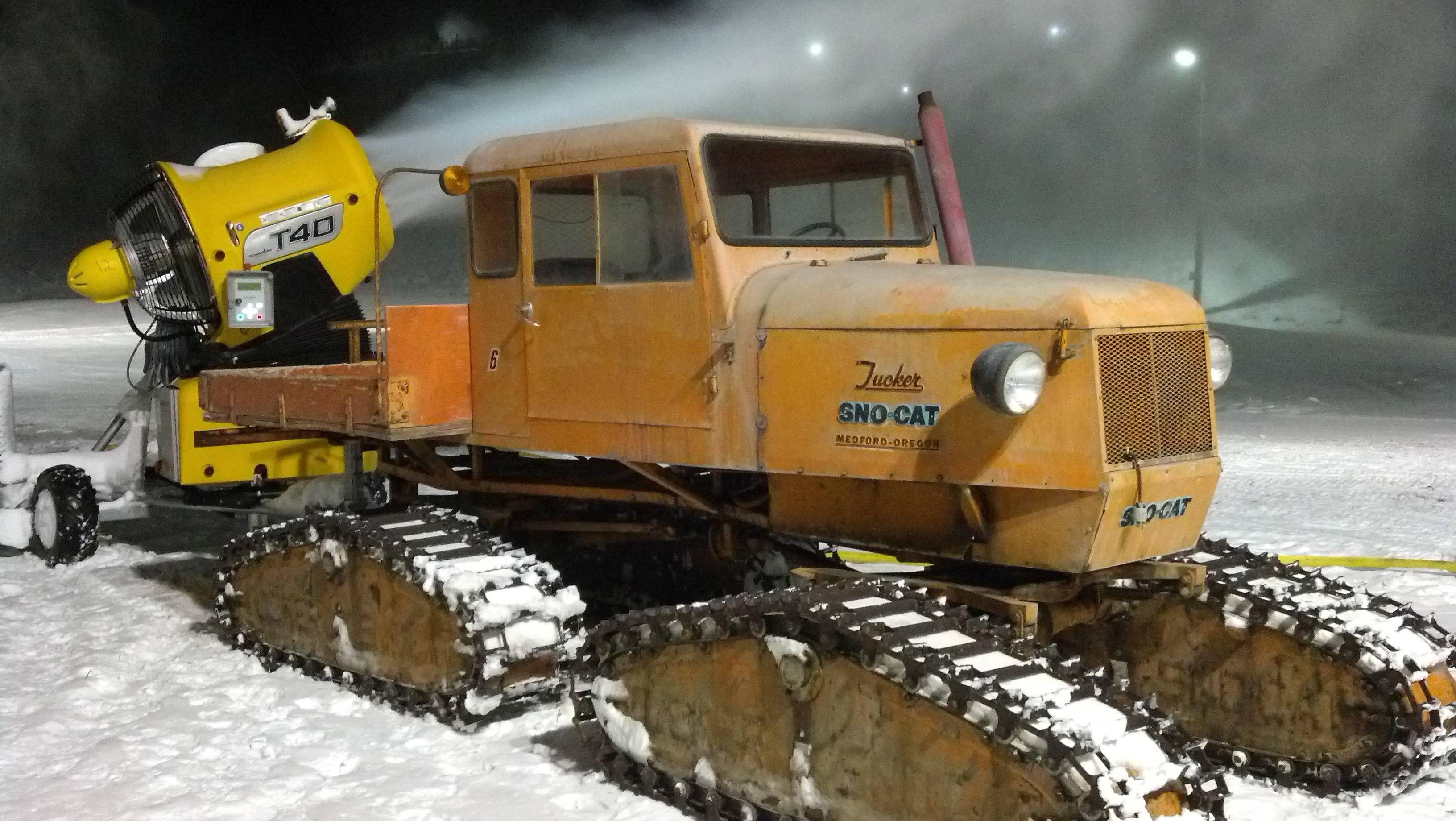 Vintage Tucker Snow Cat Snow Vehicles Snow Removal