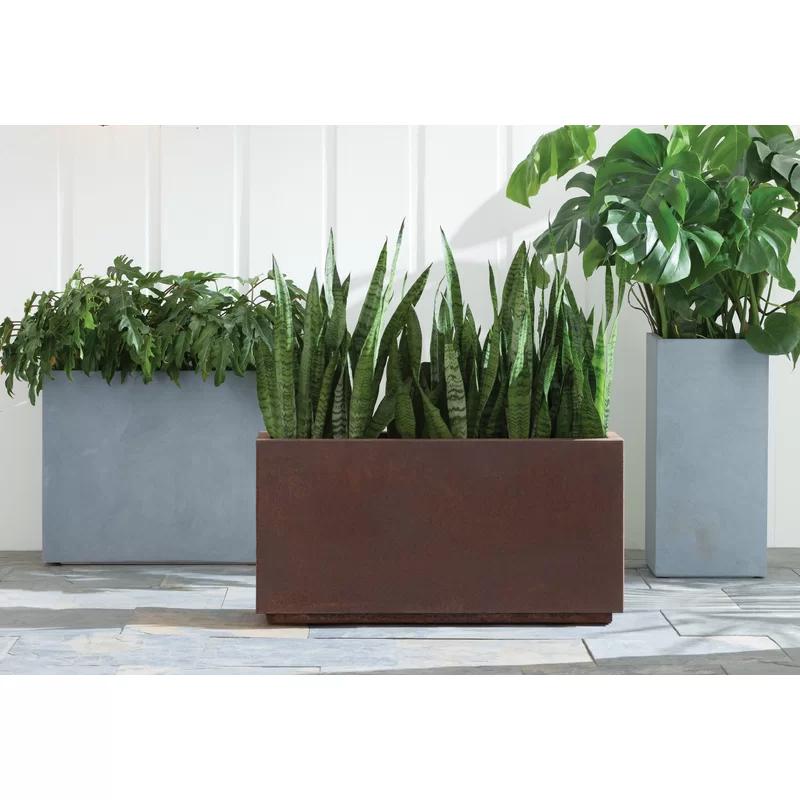 Metallic Series Corten Steel Planter Box With Images 400 x 300