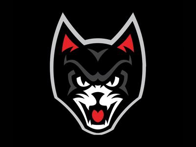 Black Cat Cat Logo Design Black Cat Creepy Cat