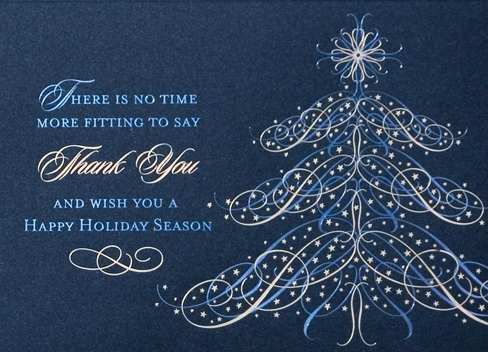 Custom Christmas Cards for your business from Vistaprint