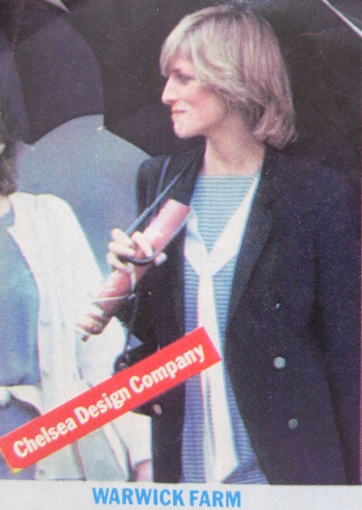 April 3, 1983: Princess Diana with her ex-flatmate, Anne Bolton, at Warwick Farm polo grounds in Sydney, Australia.