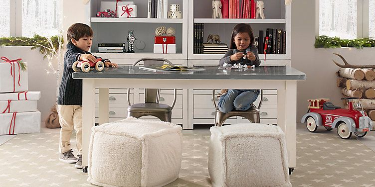 WOLF + FRIENDS U2014 RESTORATION HARDWARE: Schoolhouse Table And Chairs