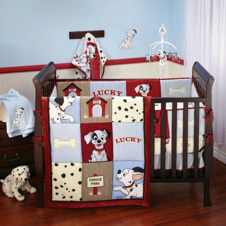 101 Dalmatian Nursery Baby Crib Bedding Sets Disney Baby Nurseries Disney Themed Nursery