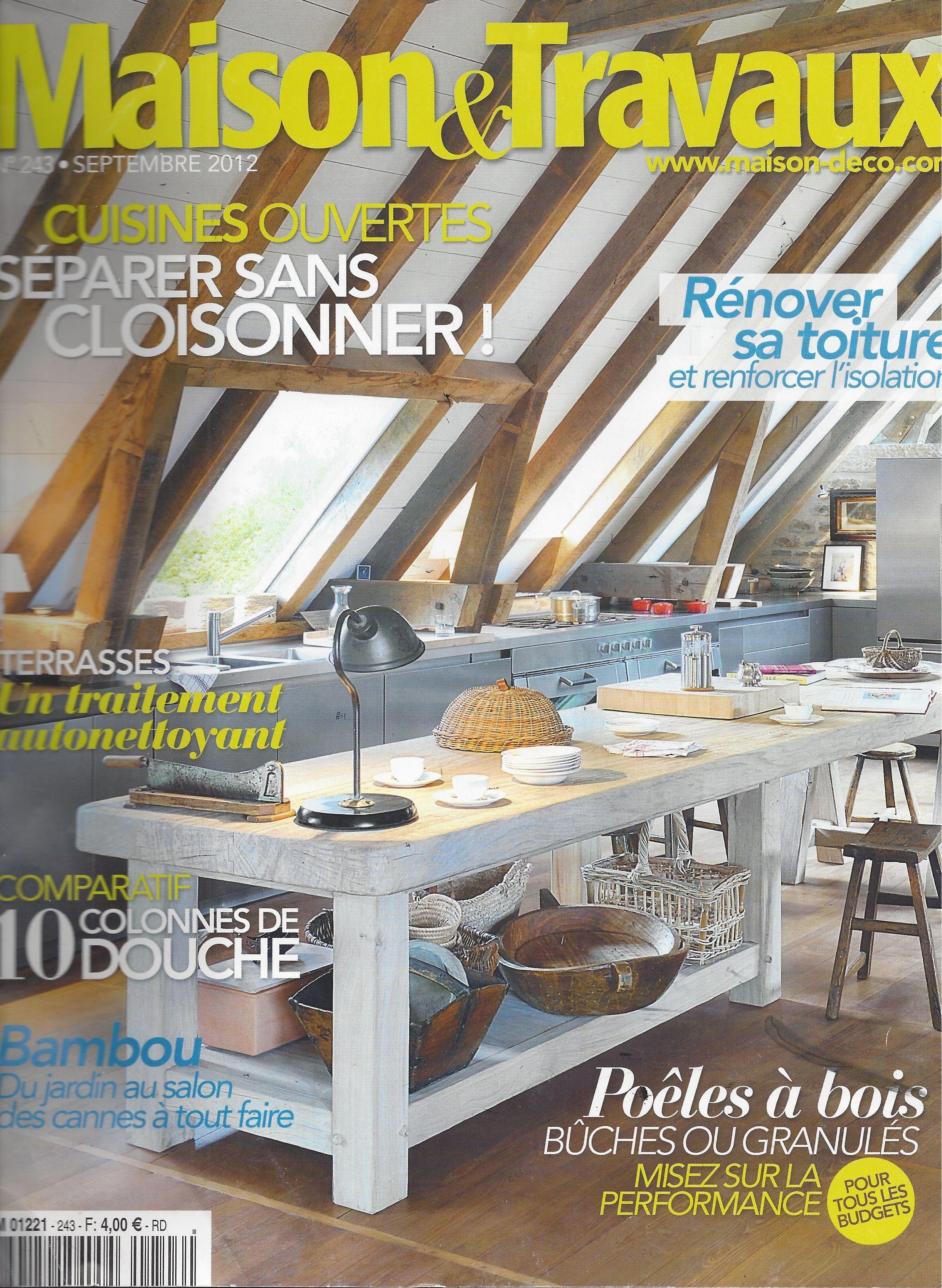 Ecoligne bambou dans le magazine maison et travaux