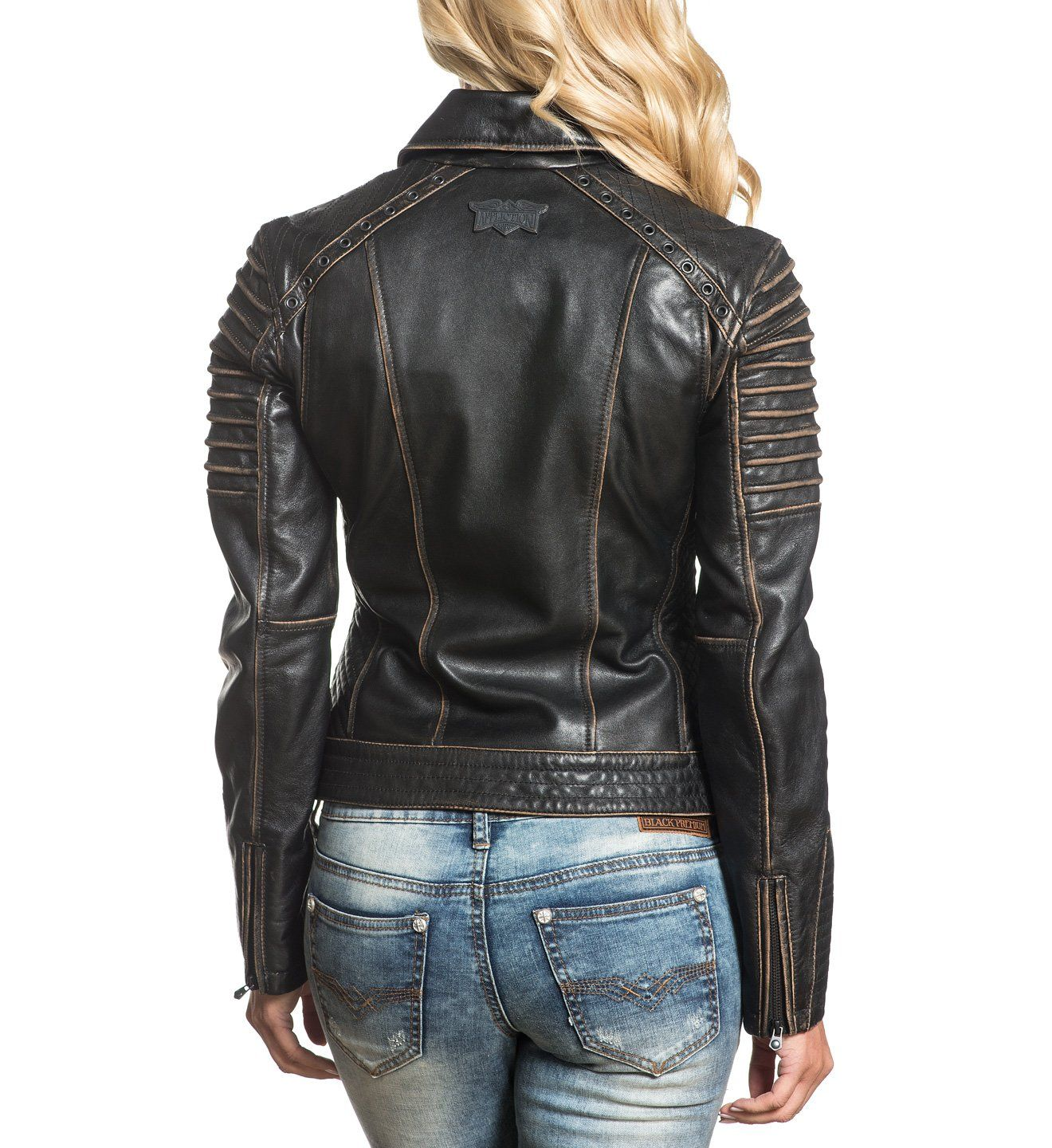 Affliction Women's Moto Jacket Supreme Quality Tees for