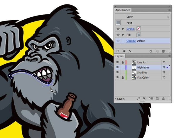 Illustrator WOW! Techniques: Flexible Shading and Highlighting Effects | CreativePro.com