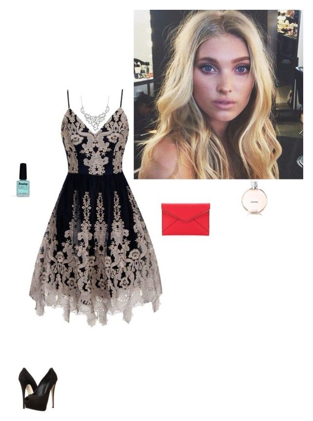 """""""Untitled #92"""" by lizziek33 ❤ liked on Polyvore featuring Chi Chi, Giuseppe Zanotti, Rebecca Minkoff and Limedrop"""