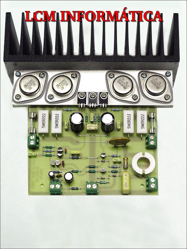 Amplificador De Udio Com 2n3055 1 Pinterest Hifi Amplifier Universal Power Supply With Ic78xx And Mj2955 Como Funciona O Os Transistores Do Tipo Podem Ser Colocador
