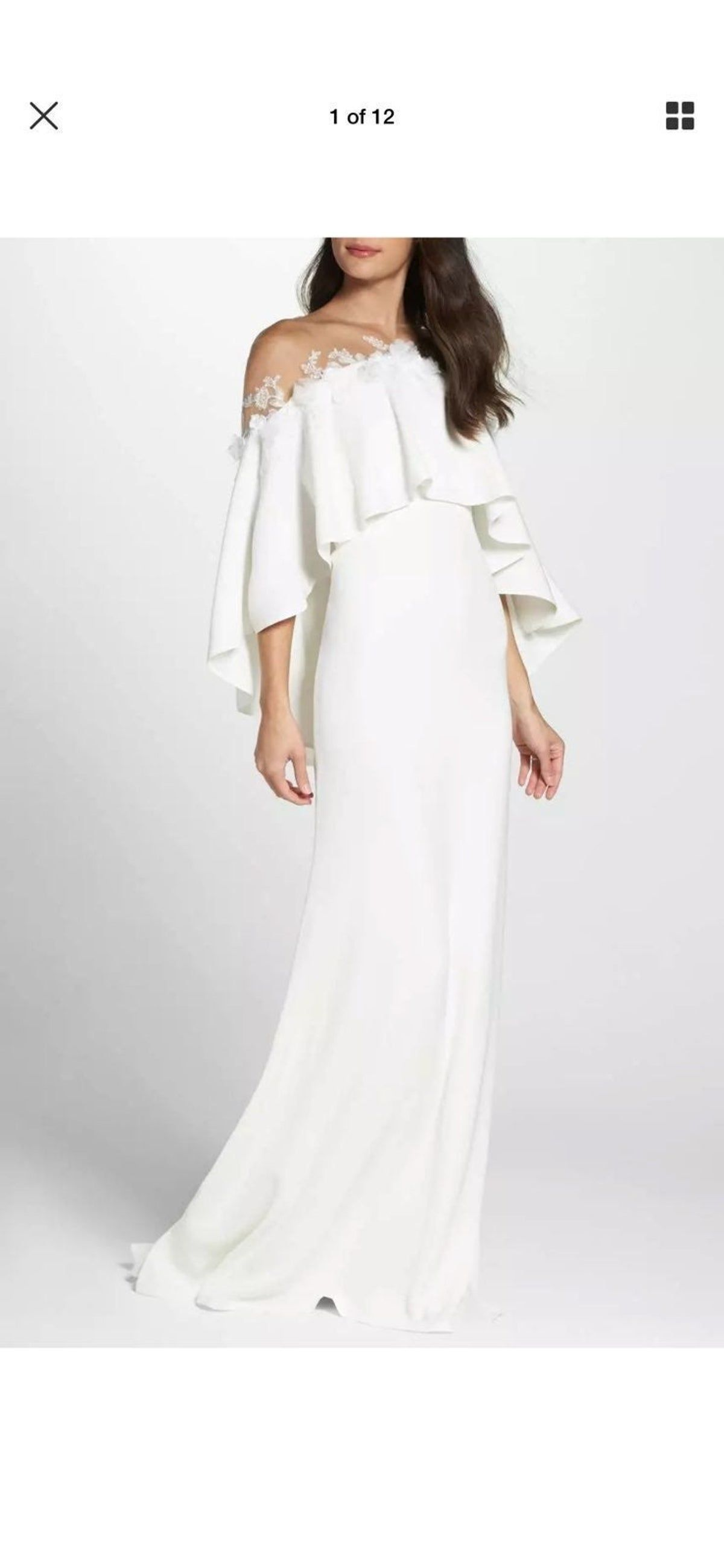 Nwt! Never worn. currently retails on Nordstrom website for $828. Absolute stunner. I bought too many white dresses for my wedding! Ha! Pictures do NOT do this justice!! #revolve #shopbop #netaporter #intermix #nordstrom