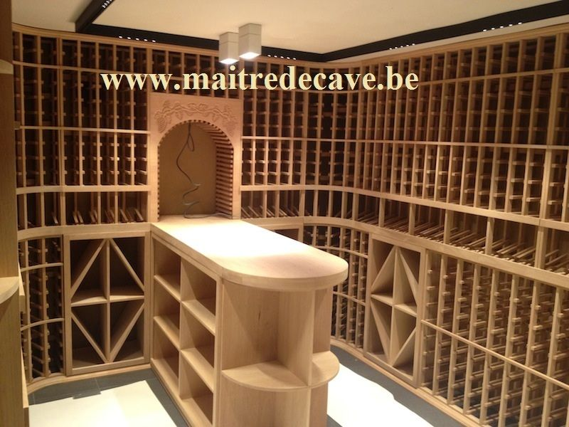 cr ation de celliers et caves vin haut de gamme. Black Bedroom Furniture Sets. Home Design Ideas