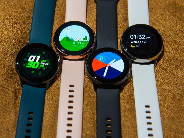 Samsung Galaxy Watch Active 2 Pictures Leak Samsung Watches Samsung Samsung Galaxy