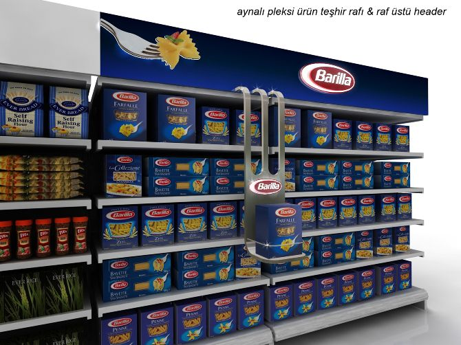 Barilla Iremharikaburun Shelves Shelf Talkers Home Decor