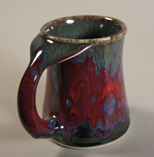 Whale Tail mug from Edgecomb Potters