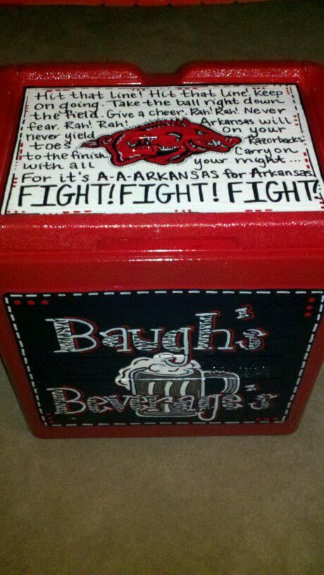 Pin By Rachel Epperson On My Coolers Amp Crafting Sports