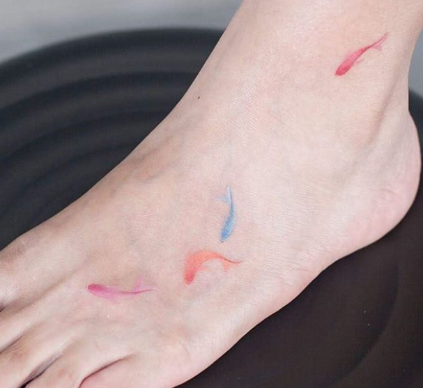 32 Of The Tiniest Most Tasteful Tattoos Ever Millions Grace Tasteful Tattoos Tattoos Cute Couple Tattoos