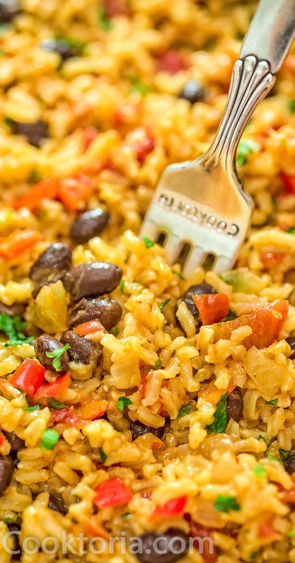 Rice and Beans Recipe This is THE ONLY Rice and Beans recipe youll ever need Made with simple ingredients this dish is filling and very tasty FOLLOW Cooktoria for more de...