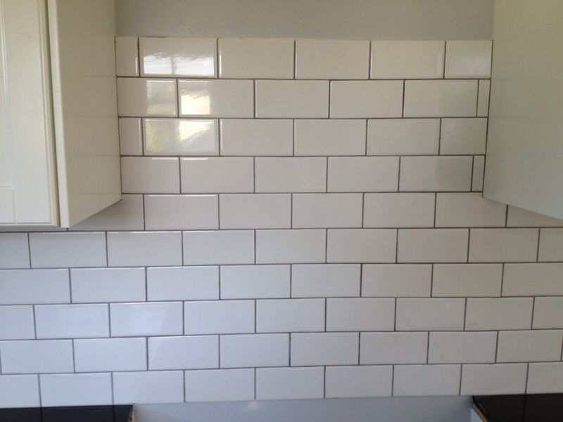 Delorean Gray Grout Looks Lighter Than