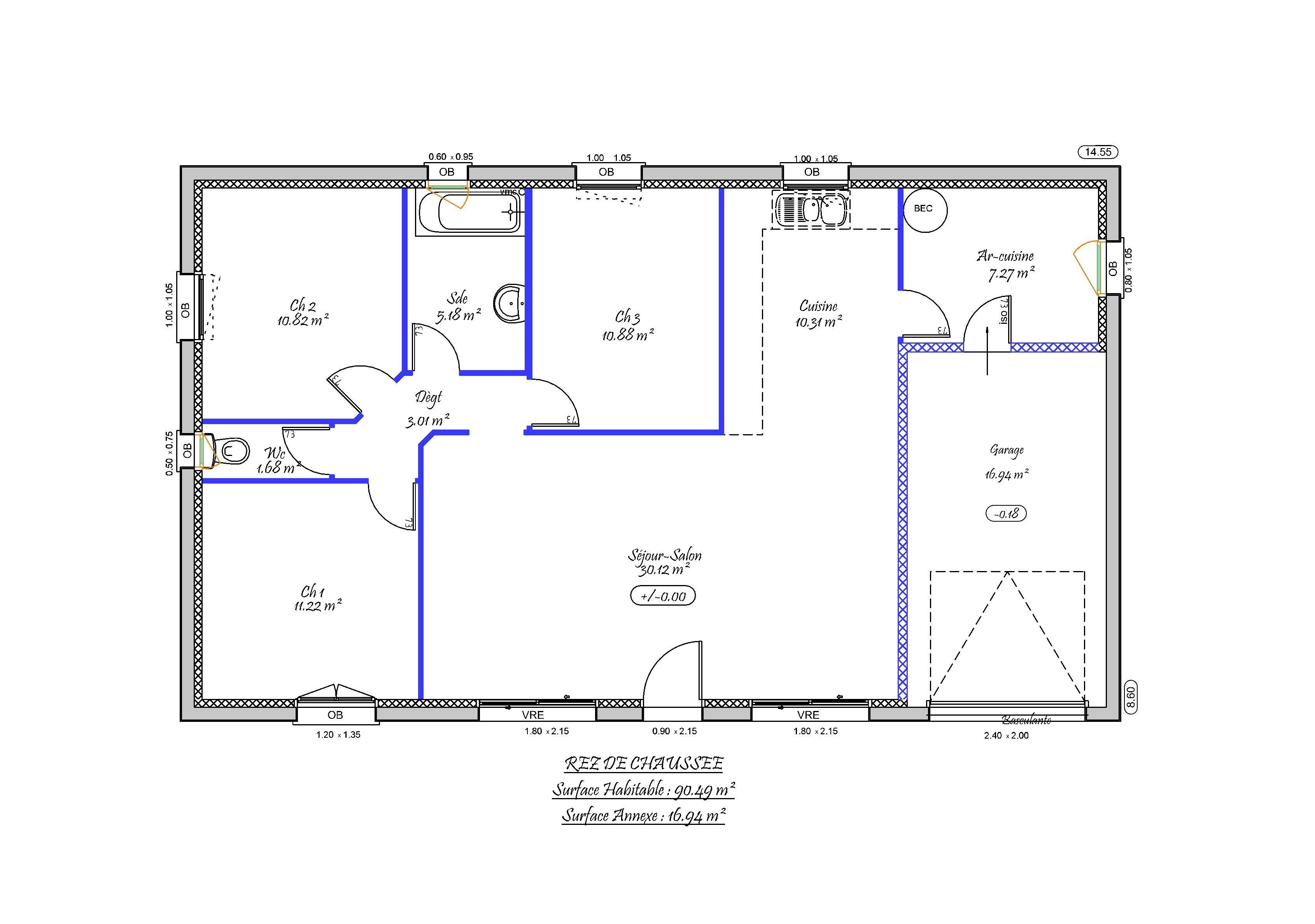 8 Plan Maison Gratuit En Ligne How To Plan Container House House Plans