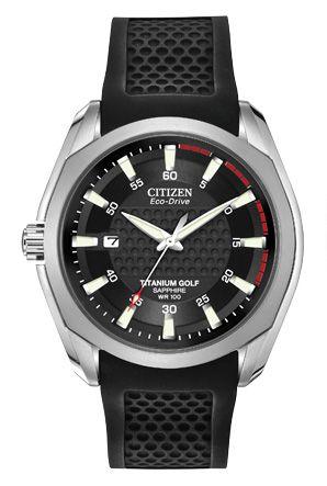 5906ea6e23d54 Men s Citizen - Citizen Eco-Drive Titanium Golf BM7120-01E Titanium.  Kraft s Fine Jewelry.