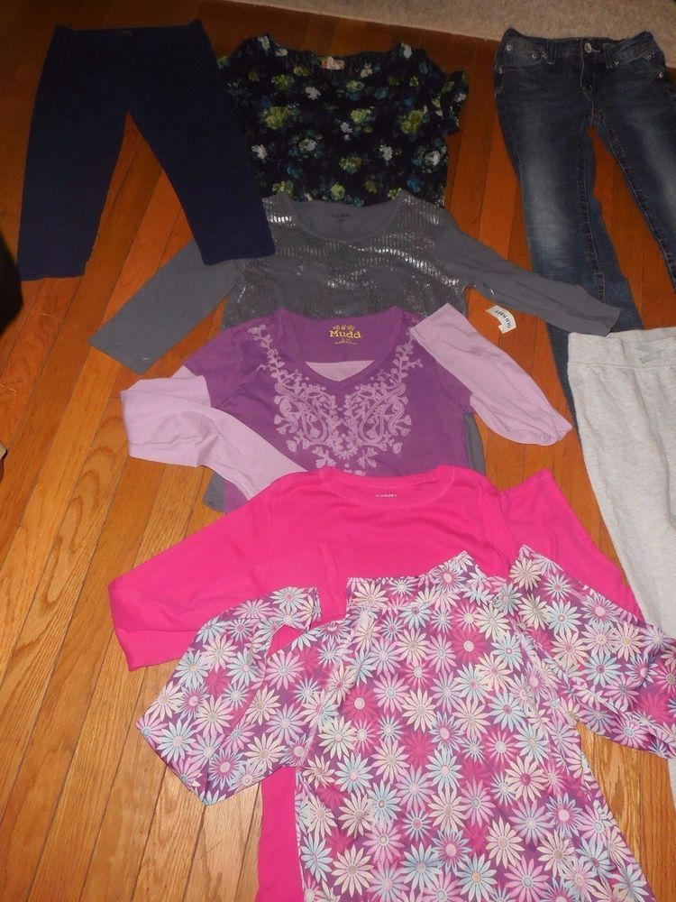 19c9dece8601 Huge Mixed Lot Girls Clothing~Size 14-16 XL clothes #JusticeMuddOldNavymore  #Everyday
