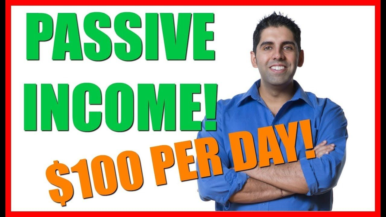 How to make 100 per day in passive with affiliate